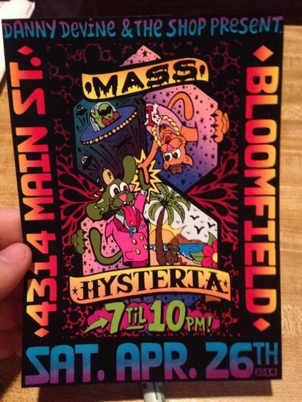 2014-4-26 Mass Hysteria flyer