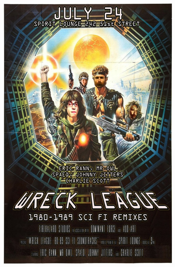 WRECK LEAGUE 8089 11BY17 POSTER small